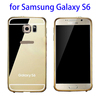 2015 new factory price Metal Bumper mirror case for samsung s6