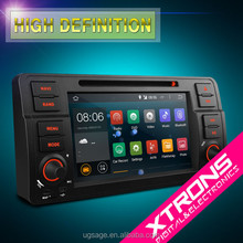 """PF7246BA-7"""" Android 4.4.4 OS touch Car DVD Player With Wireless Screen Mirroring Function & OBD2 For BMW Old 3 Series E46"""