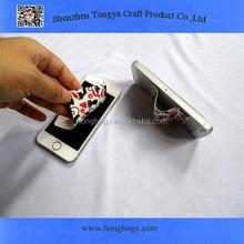Eco Printed adhesive microfiber screen cleaner/desktop screen cleaner