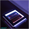 Wall mounted led acrylic tobacco display king size cigarette case designer cigarette cases