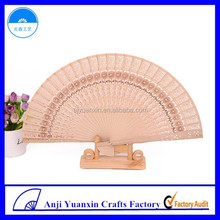 Wedding Favors Logo Carved Personalized Sandalwood Fan