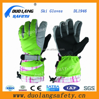adults professional famouse fashion down filled leather sports gloves