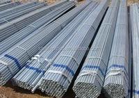 Building material Q195/Q215 erw welded pre galvanized square structure steel pipe/tube