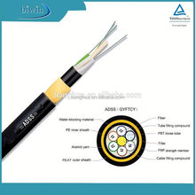 ADSS aerial fiber optical cable / fiber optic cable price /optical fiber cable self supporting