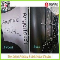 PVC magnetic pop up display 3x4/hot selling pop up display for trade show display