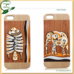 Newest Fashion Hard Wood Case For Iphone 4, for iphone 5 wood case plain case