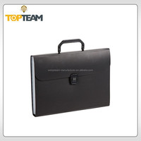 Hot style new product plastic document folder with handle,pretty file boxes,printed plastic folders