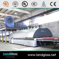 LandGlass Electricity Saving Toughened Glass Plant Furnace Machine