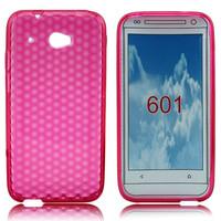 soft diamond tpu back cover for htc desire 601 case