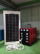 portable camping used 10w solar power system solar home system