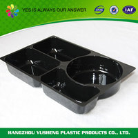 Wholesale new design environmental plastic lunch tray