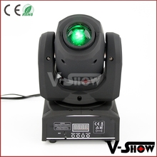 Programmable led moving head lights 10w rainbow flow effect led moving head spot led lighting