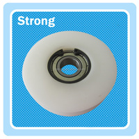 Customized plastic pulley,Nylon roller, belt tensioner pulley