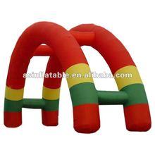 2012 best seller hot cartoon outdoor inflatable tent arch