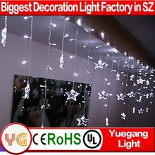 Nice star light chain christmas decoration for china supplier star light chain christmas decoration