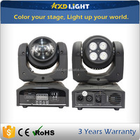 10W LED Beam and 4pcs 4in1 RGBW LEDs Wash Double Face LED Moving Head for sale