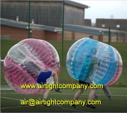 Adult bumper ball/inflatable body bubble ball for outdoor football or soccer