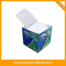 Onzing good quality cube folding paper box with a competitive