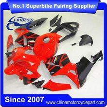 FFKHD007 Fairings For Motorcycle For CBR600RR 2003 2004 Red&Black Matt Black Tail