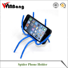 Hot Sales Spider Shape All-purpose Silicone mobile phone holders