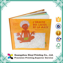 Hot saling colorful lamination children mini book printing with pictures