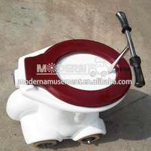 China popular mini car toilet race attraction