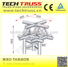 B30-TA5205 length 500mm high quality square space truss corner for setting up truss
