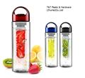 Venta al por mayor venta caliente Tritan Fruit infusor botella de agua