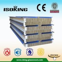 Roof and Wall Rock Mineral Wool Sandwich Panels