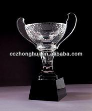 classic crystal products, AAA K9 crystal trophy, crystal award