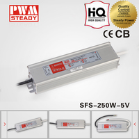 dc adjustable sfs 250w 5v 30a waterproof series power supply