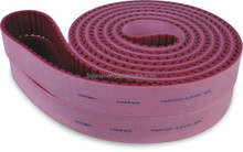 High quality PU timing belt AT20 with rubber for edging griding belts