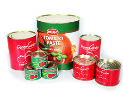 Factory supply high concentrated 70g-4.5KG CANNED TOMATO PASTE