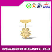 nouveau style de vente haut insignes en métal collection de valeurs