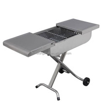 Durable BBQ trolley grill stainless steel barbecue grill charcoal stove del Grill