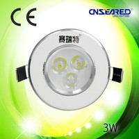 led spotlight led suspended ceiling lamp 3W