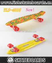 skate board water print penny board Outdoor sports entertainment