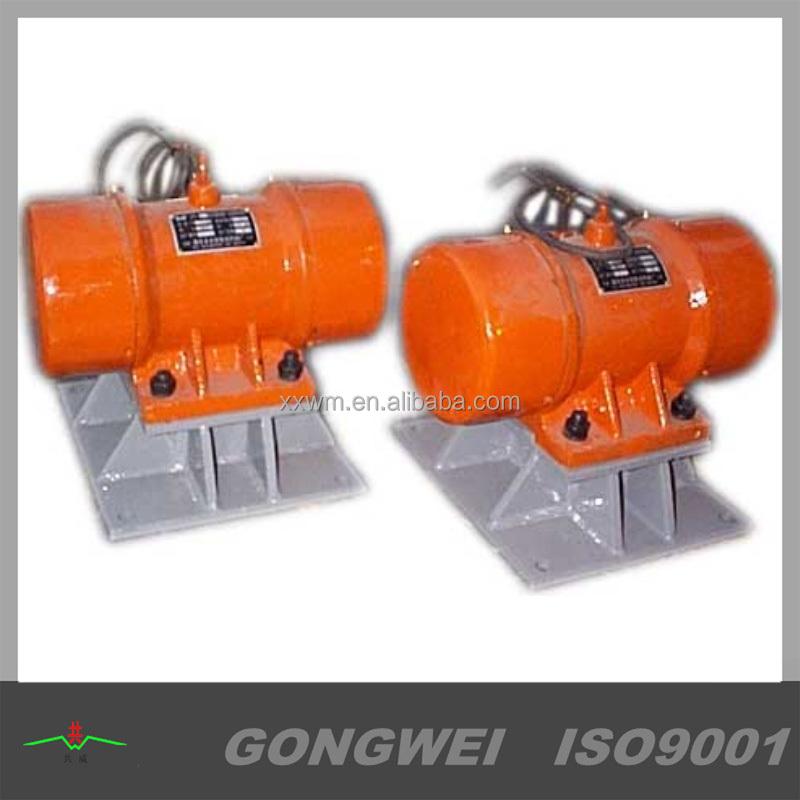 380v 50hz Electric Vibrator Motor Vibration Force
