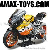 dm-89810a Motor Racing static model / KAWASAKI-ZX-12R full simulation of motorcycle
