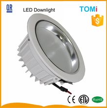 21W 7inch led downlight with ETL CE round shell ceilling light SMD5730 led cutout 180mm