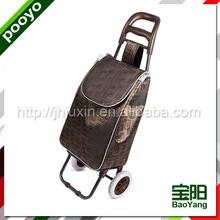 fashion shopping trolley bag foldable marketing trolley