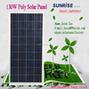 High quality Poly 130W solar panel of factory direct sale made in China