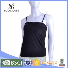 Hot Sale Fitness Young Lady Cotton Wool Camisole