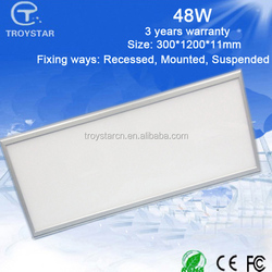 300 x 1200 mm 48w ip44 indoor use solar panel products livarno lux led