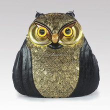 Ameiliyar fashion owl shape unique style backpack bag 9086