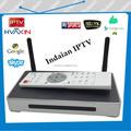 Iptvボックスを持つチャンネルフルhdデジタル衛星放送受信機インドの無料の映画テレビボックス+indianセックスポルノビデオhdtvボックス