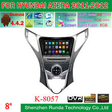 Android 4.4.2 Touch Screen Car DVD GPS for Hyundai Azera 2011-2012