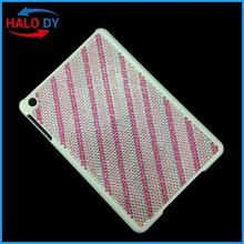 For ipad case, high quality cover case for ipad with elegant design with crystal diamond, customized design is ok