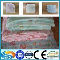 cotton muslin double layer plain weave fabric
