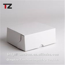 custom Fancy Design Gift Paper Packaging Box Fashion White paper box